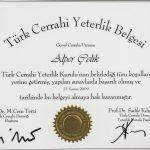 Prof. Dr. Alper Celik Sertifika 11