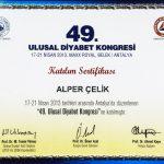 Prof. Dr. Alper Celik Sertifika 12