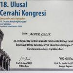 Prof. Dr. Alper Celik Sertifika 15