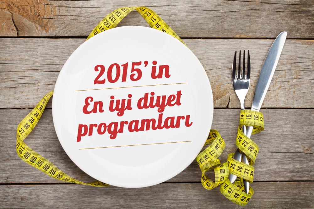 2015'in En İyi Diyet Programları